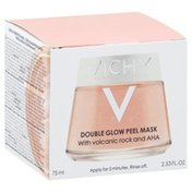 Vichy Peel Mask, Double Glow, with Volcanic Rock and AHA