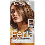 Feria Permanent Hair Colour Gel, Hi-Lift Cool Brown B61