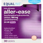Equaline Aller-Ease, 180 mg, Tablets