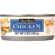 Best Choice White Chicken Chunk With Water