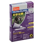 Hartz Flea & Tick Prevention, Topical, for Dogs & Puppies