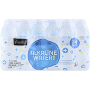 Essential Everyday Alkaline Water, with Electrolytes, 24 Pack