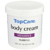 Top Care Vitamin E 10,000 I.u. Body Cream