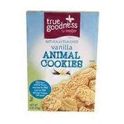 Meijer Vanilla Flavored Animal Cookies