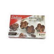 Delizza Mini Chocolate Mousse With Real Belgian Chocolate