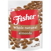 Fisher Whole Natural Almonds