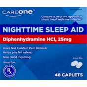 CareOne Nighttime Sleep-Aid Caplets