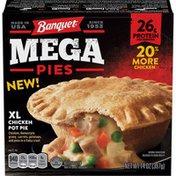 Banquet Mega Chicken Pot Pie Retail Ready Packaging