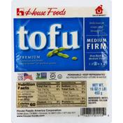 House Foods Tofu, Premium, Medium Firm
