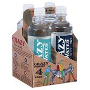 Crazy Family Water, Alkaline, 4 Pack