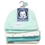 Gerber Caps, Size 0-6M