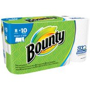 Bounty Select-A-Size White Large Rolls Paper Towels