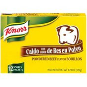 Knorr Hispanic Powdered Beef Packets Bouillon