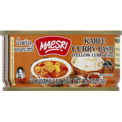 Maesri Yellow Curry Paste
