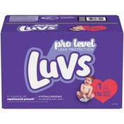 Luvs Pro Level Leak Protection Diapers Size 1