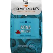 Camerons Coffee, Whole Bean, Light Roast, Kona Blend