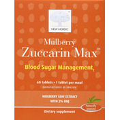 New Nordic Mulberry Zuccarin Max, Tablets