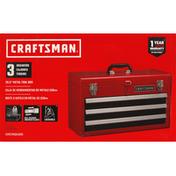 Craftsman Tool Box, Metal, 20.5 Inch