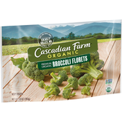 Cascadian Farm Organic Broccoli Florets, Frozen Vegetables, Non-GMO