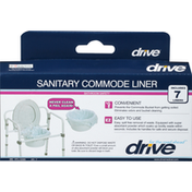 Drive Liner, Sanitary Commode