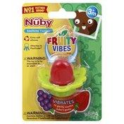 Nûby Teether, Soothing, Fruity Vibes