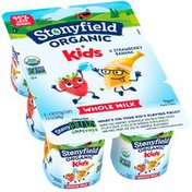 Stonyfield® Organic Kids Strawberry Banana Whole Milk Yogurt