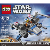 LEGO Microfighters, Resistance X-Wing Fighter, Series 3, 87 Pieces