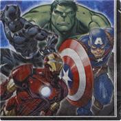 Unique Napkins, Marvel Avengers, 2 Ply