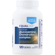 Equaline Glucosamine Chondroitin Complex, Triple Strength, Tablets