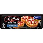 Red Baron Deep Dish Minis Pepperoni Pizzas