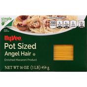 Hy-Vee Angel Hair, Pot Sized