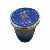 Rare Earth Colored Glass Spa Peace Candle