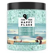 Find Your Happy Place Soaking Bath Salts Sea Salt And Water Blossom