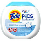 Tide PODS Free & Gentle HE Turbo Laundry Detergent Pacs 66-load Tub Laundry