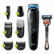 Braun Mgk5245 7-In-1 Body Grooming Kit, Body Groomer, Beard Trimmer And Hair