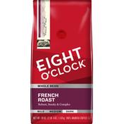 Eight O'Clock Coffee French Roast Whole Bean Coffee