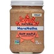 Maranatha Raw Maple Almond Butter, No-Stir, Creamy