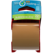 Simply Done Mailing Tape, Tan
