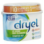 Dryel At-Home Dry Cleaning Starter Kit, Clean Breeze Scent
