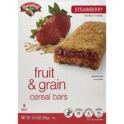 Hannaford Strawberry Cereal Bars