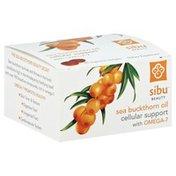 Sibu Sea Buckthorn Oil, Cellular Support, Vegetarian Softgels, Box
