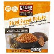 Boulder Canyon Riced Sweet Potato, Caramelized Onion Flavor