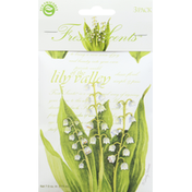 Fresh Scents Scented Sachets, Of the Lily Valley, 3 Pack