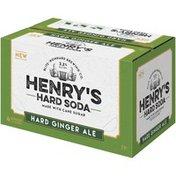 Henry's Hard Soda Hard Ginger Ale Hard Ginger Ale Hard Soda