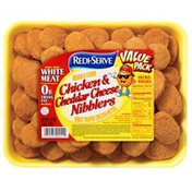 Redi Serve Valu Pack Breaded & Cooked Chicken & Cheddar Cheese Nibblers