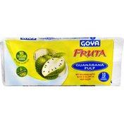 Goya Guanabana Soursop Fruit Pulp, 10 Pouches