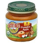 Earth's Best Pumpkin Apple, 2 (6 Months+)