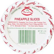 Paradise Pineapple, Slices