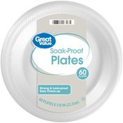 Great Value Soak-Proof Plates