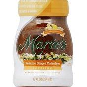 Marie's Dressing, Sesame Ginger Coleslaw